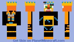 Crash Bandicoot (Time Mask) [Crash 4: It's About Time) Minecraft Skin