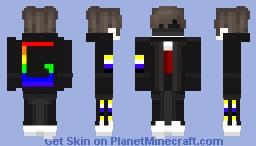 Enby Server of Gay Cult Uniform Minecraft Skin