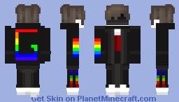 Server of Gay Cult Uniform Minecraft Skin