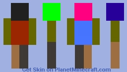 Template (will label in description or a comment later) Minecraft Skin