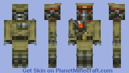 Red Bliss , reforged Minecraft Skin