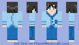Pokémon Calem (Pyjamas) Minecraft Skin