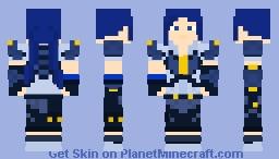 Kobalt (Rwby Volume 7-8) Minecraft Skin