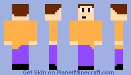 idk just a guy Minecraft Skin