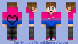 new bisexual skin Minecraft Skin