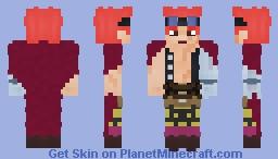 Eustass Kid [One Piece] Minecraft Skin