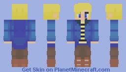 AcaiBerii Fan Skin Minecraft Skin
