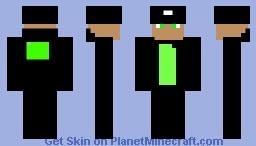 jelly gangster(updated leg) Minecraft Skin
