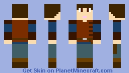 Edmund Pevensie - Prince Caspian Castle Raid Outfit: The Chronicles of Narnia Minecraft Skin