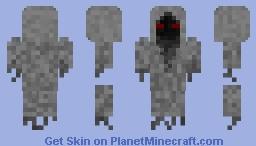 Demon Ghost Minecraft Skin