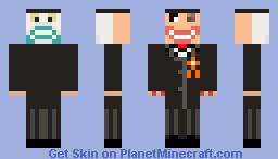 Nightmare Before Christmas: HalloweenTown Mayor Minecraft Skin