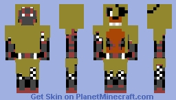 GOLDEN FRET FRET ( 2.o ) Minecraft Skin