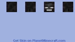 Wither Bos s Head - Middle Minecraft Skin