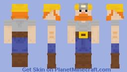 Duncan the Miner Minecraft Skin