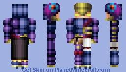 Assault Blackwing - Raikiri the Rain Shower Minecraft Skin