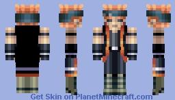 Dark Signer Crow Hogan Minecraft Skin