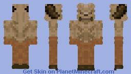 Hell Knight (DOOM) Minecraft Skin