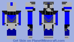 Clone Trooper Fives (ARC-5555) Minecraft Skin