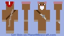 Reepicheep - Prince Caspian movie: The Chronicles of Narnia Minecraft Skin