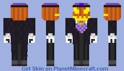 Pumpkinhead JackSkelingtonMC Minecraft Skin