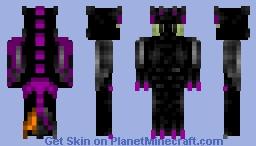 toothless (halloween edition) Minecraft Skin