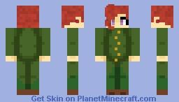 """No one can just deflect the Emerald Splash!"" Minecraft Skin"