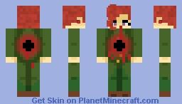 """""""My final Emerald Splash..."""" Minecraft Skin"""