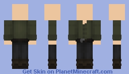 Green Tunic Minecraft Skin