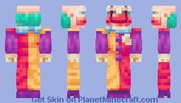 Creepy Clown Minecraft Skin