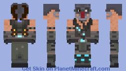 Kabal Mortal Kombat 9 Minecraft Skin