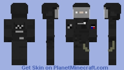 French RAID Minecraft Skin