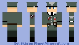 Waffen-SS Offizier 1962 Minecraft Skin