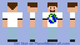 PMC Unofficial Merch Minecraft Skin