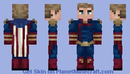 Homelander | The Boys | John Minecraft Skin
