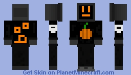 extremely low effort halloween pc guy Minecraft Skin