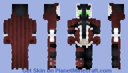 Spawn - Al Simmons || Spooktober Event Submission Minecraft Skin