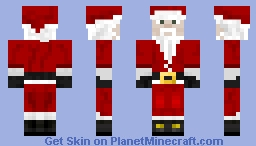 Santa Clause for Christmas! Minecraft Skin