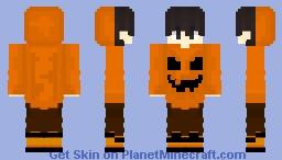 Its's October Minecraft Skin