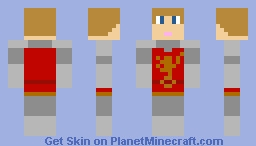 Peter Pevensie - The Lion, the Witch and the Wardrobe Battle of Beruna without Helmet: The Chronicles of Narnia Minecraft Skin