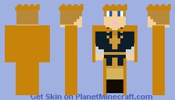 High King Peter Pevensie - The Lion, the Witch and the Wardrobe Coronation: The Chronicles of Narnia Minecraft Skin