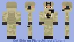 Norwegian FSK (Forsvarets spesialkommando) Minecraft Skin