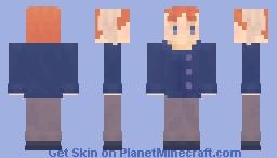 Van Gogh [Clone High] Minecraft Skin