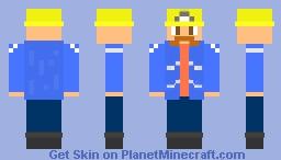 A Simple Miner Minecraft Skin
