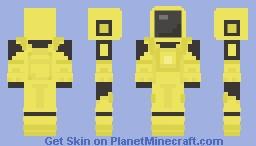 Among Us - Yellow Minecraft Skin