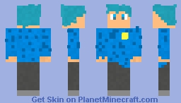 police thing or thing :sad: Minecraft Skin