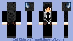 black-butler sebastian Minecraft Skin