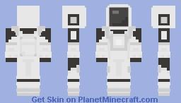 Among Us - White Minecraft Skin