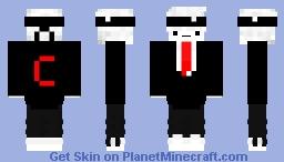 Tuxedo Cloud Minecraft Skin