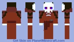 Ainz Ooal Gown  In His Cloak Minecraft Skin