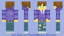 Purple Boy Minecraft Skin